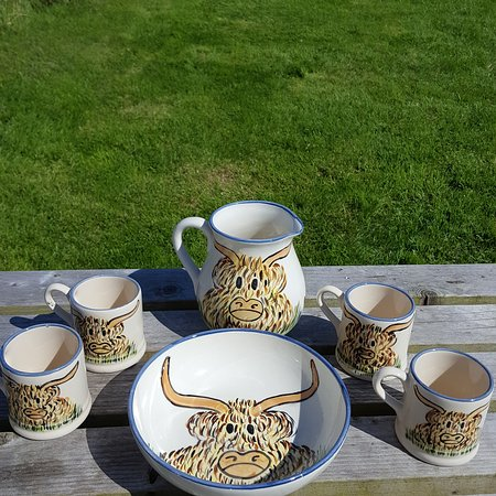 Port Askaig, UK: Persabus Pottery and Ceramic Cafe