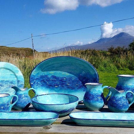 Port Askaig, UK : Persabus Pottery and Ceramic Cafe