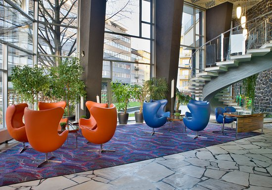 Hotel Continental: Hotel lobby