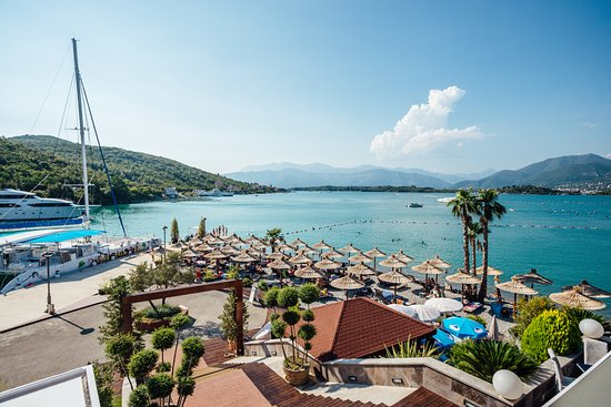 Tivat, Montenegro: Movida Beach - Roof's View