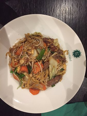 Keo Thai: dit was een gerecht met mie en vlees