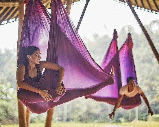 Four Seasons Resort Bali at Sayan: Anti Gravity Yoga