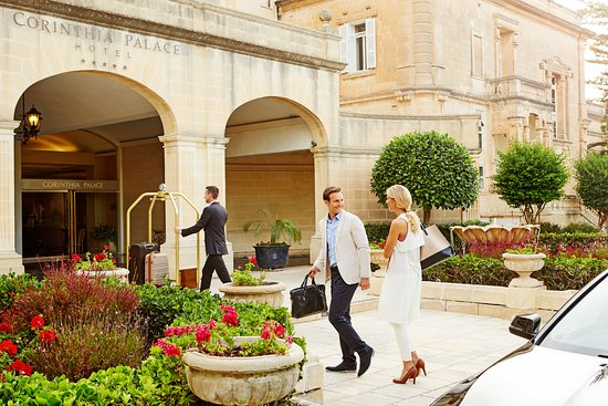 Welcome to the Corinthia Palace Hotel & Spa!