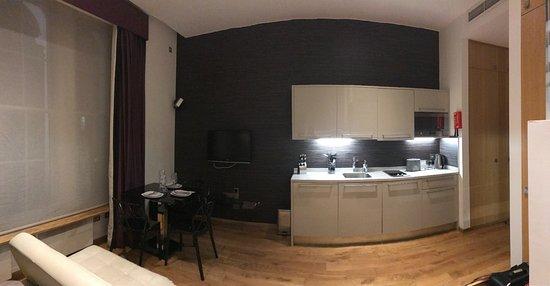 Space Apart Hotel Aufnahme