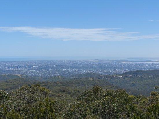 Adelaide Hills, Avustralya: view from Mount Lofty
