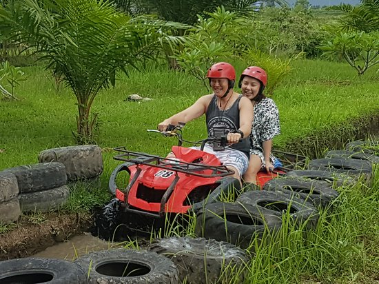Let's join with Bali candidasa tour for ATV ride