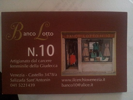 Banco Lotto n°10