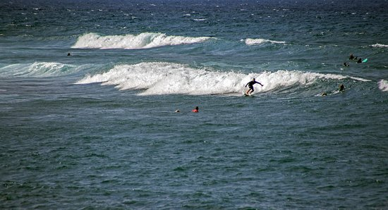 Arona, Spain: серфинг