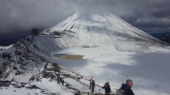 Tongariro National Park, Nuova Zelanda: Late november snow