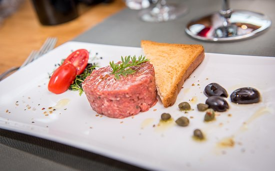 Falera, Szwajcaria: Beef Tartar