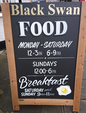 Henley in Arden, UK: Don't forget we serve breakfast on Sat & Sun