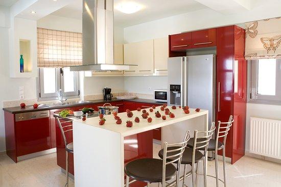 Thealos Village : Villa - Fully equipment kitchen