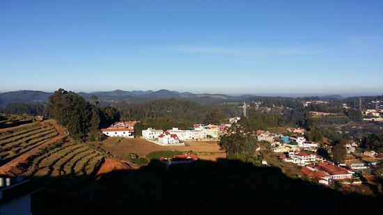Ooty - Elk Hill, A Sterling Holidays Resort: view from living room