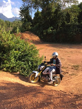 Uncle Tom's Trails - Private Day Tours: Motorbike practice