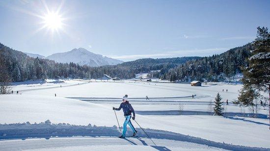 Mosern, Αυστρία: Langlaufen Olympiaregion Seefeld