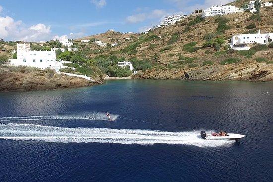 Milopotas, Yunani: Slalom ski