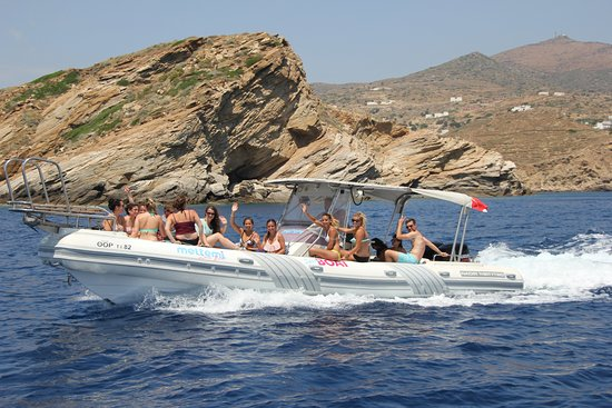 Meltemi Watersports: Speed boat Adventure