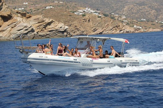 Meltemi Watersports: Meltemi Speed boat adventure