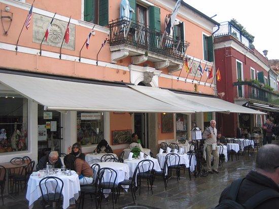 Restaurant Galuppi: Outside of the Restaurant