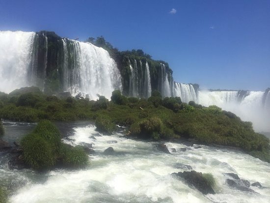 Puerto Iguazu: Vista de Cataratas lado Brasileño