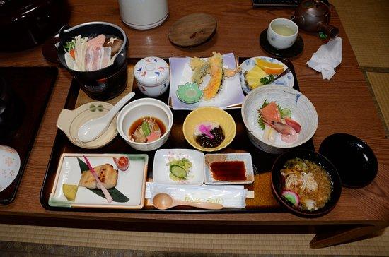 Makubetsu-cho, Japonia: 夕食