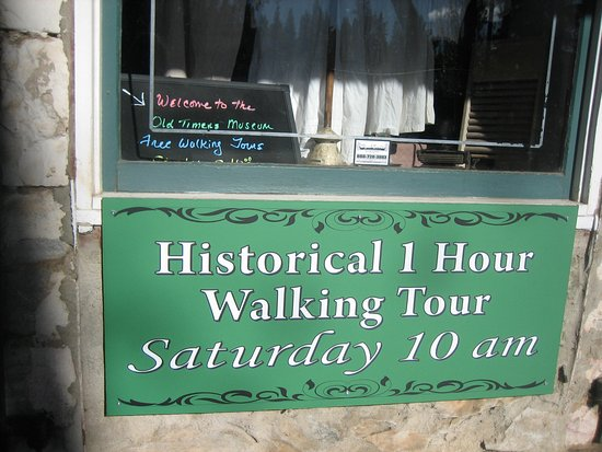 Murphys, CA: Free walking tour on Saturdays