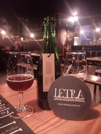 Vila Verde, Portugal: Uma cerveja especial...
