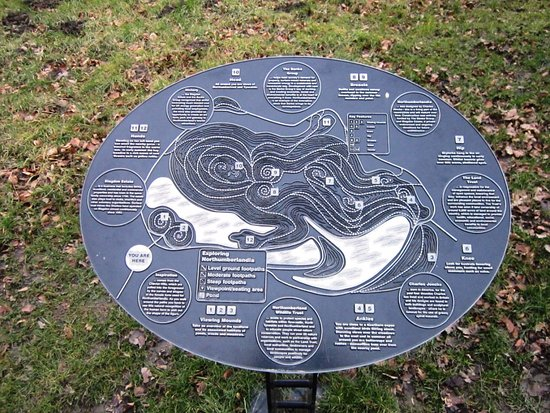 Cramlington, UK: A map of the whole area.