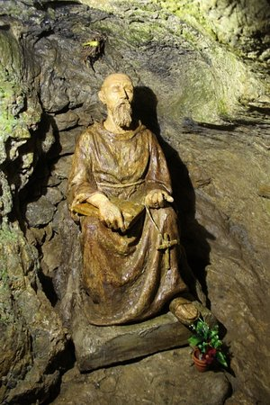 Trencin, Slovakia: La statua