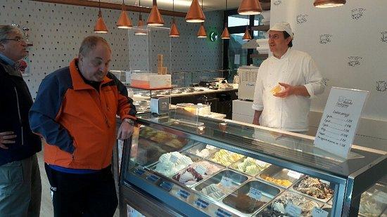 Selvazzano Dentro, Italien: Elijiendo sabores