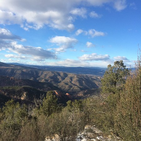 Silver City, Nuevo Mexico: Beautiful Gila National Forest