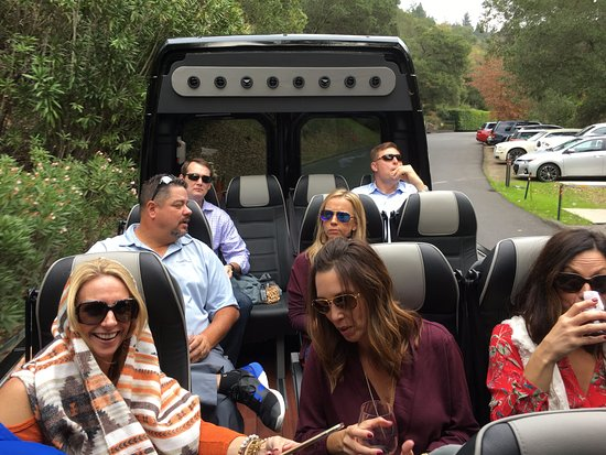 Napa Valley Wine Country Tours: Safari type experience in the wilds of NAPA!