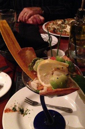 Вифлеем, Пенсильвания: Crab and avocado appetizer: great