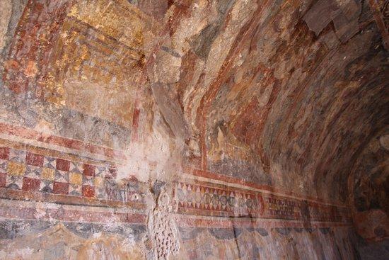 Filerimos, Yunanistan: фрески в церкви Св. Георгия