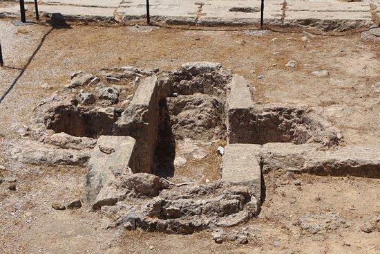 Filerimos, Yunanistan: Раннехристианская крещальня