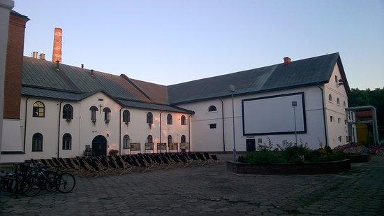 Zwierzyniec, โปแลนด์: Browar + kino letnie