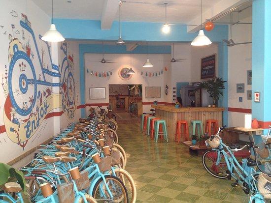 Santo Domingo Province, Dominican Republic: Nueva tienda ZONA BICI- ZONA BICI new shop