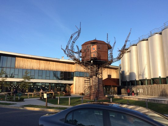 Dogfish Head Craft Brewery: Steampunk Treehouse