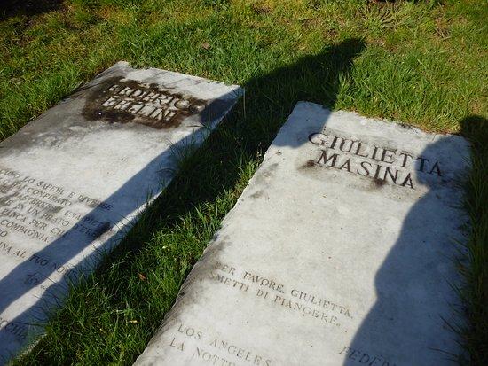 Sant'Agata Feltria, Italien: Tomba ideale di Fellini e Masina