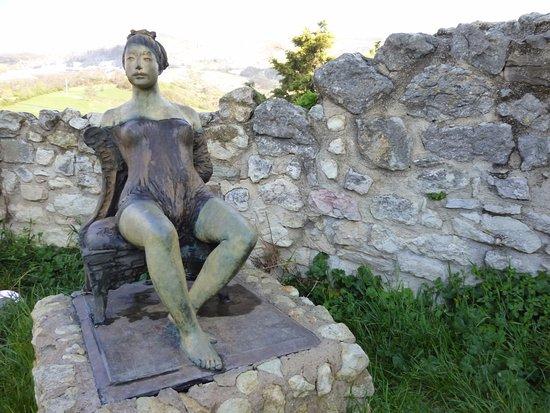 Sant'Agata Feltria, Italien: Monumento