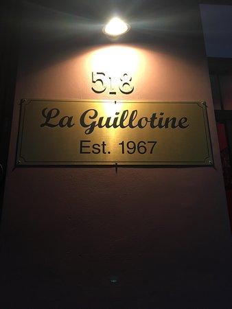La Guillotine French Restaurant: photo0.jpg