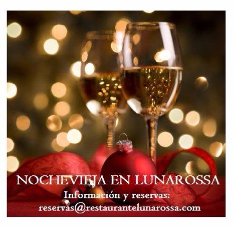 Luna Rossa quiere despedir el año entre amigos disfrutando de una magnífica cena.