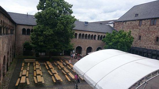 Stadtmuseum Simeonstift: Innenhof