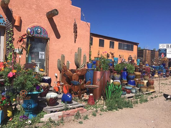 Villa Grove, CO: Store Front of Always Azul Pottery