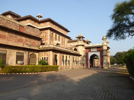 WelcomHeritage Umed Bhawan Palace: The front of the hotel