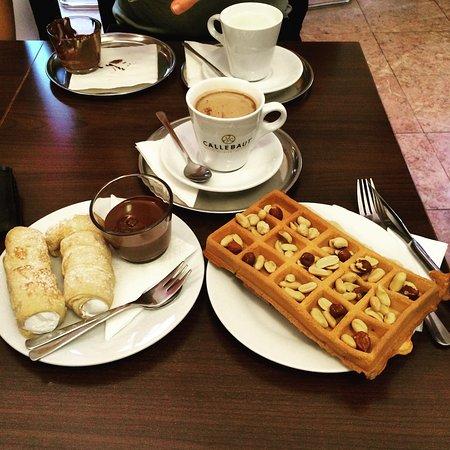 Belgium hot chocolate!