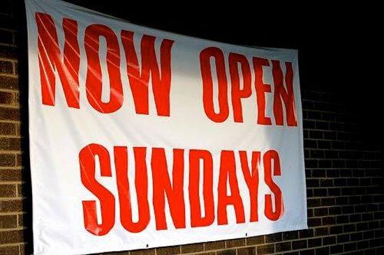 Summerville, SC: Now Start open Sundays