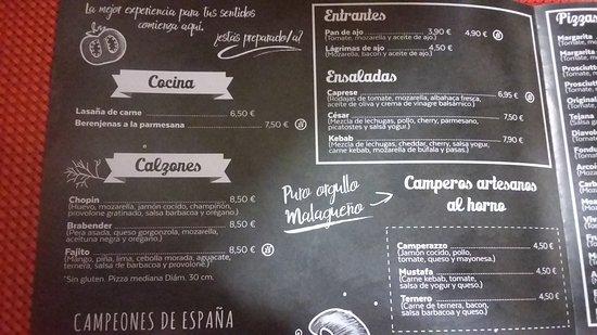 Estacion de Cartama, Spanje: Carta