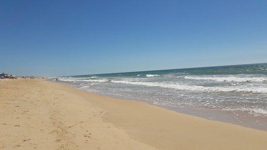 Weiter Strand Auf Der Ilha De Faro Richtung Spanien Picture Of