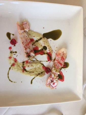 Isola d'Asti, Italy: shrimps